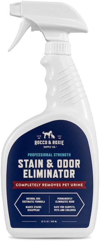 Pet stain cleaning spray