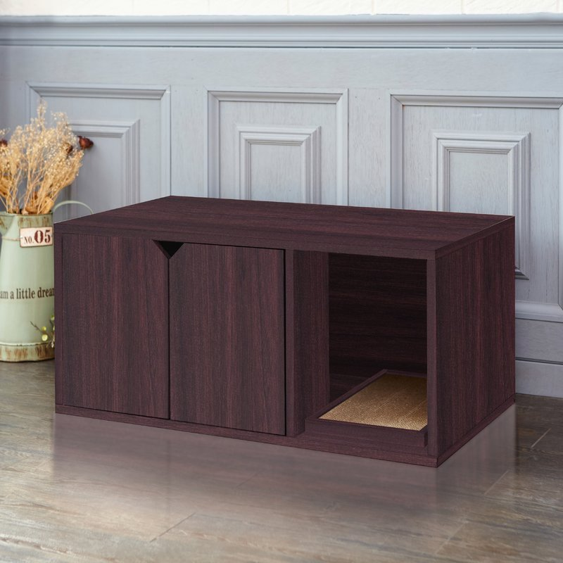 Enclosed Litter Box Cabinet From Wayfair's New Online Pet Supply Store
