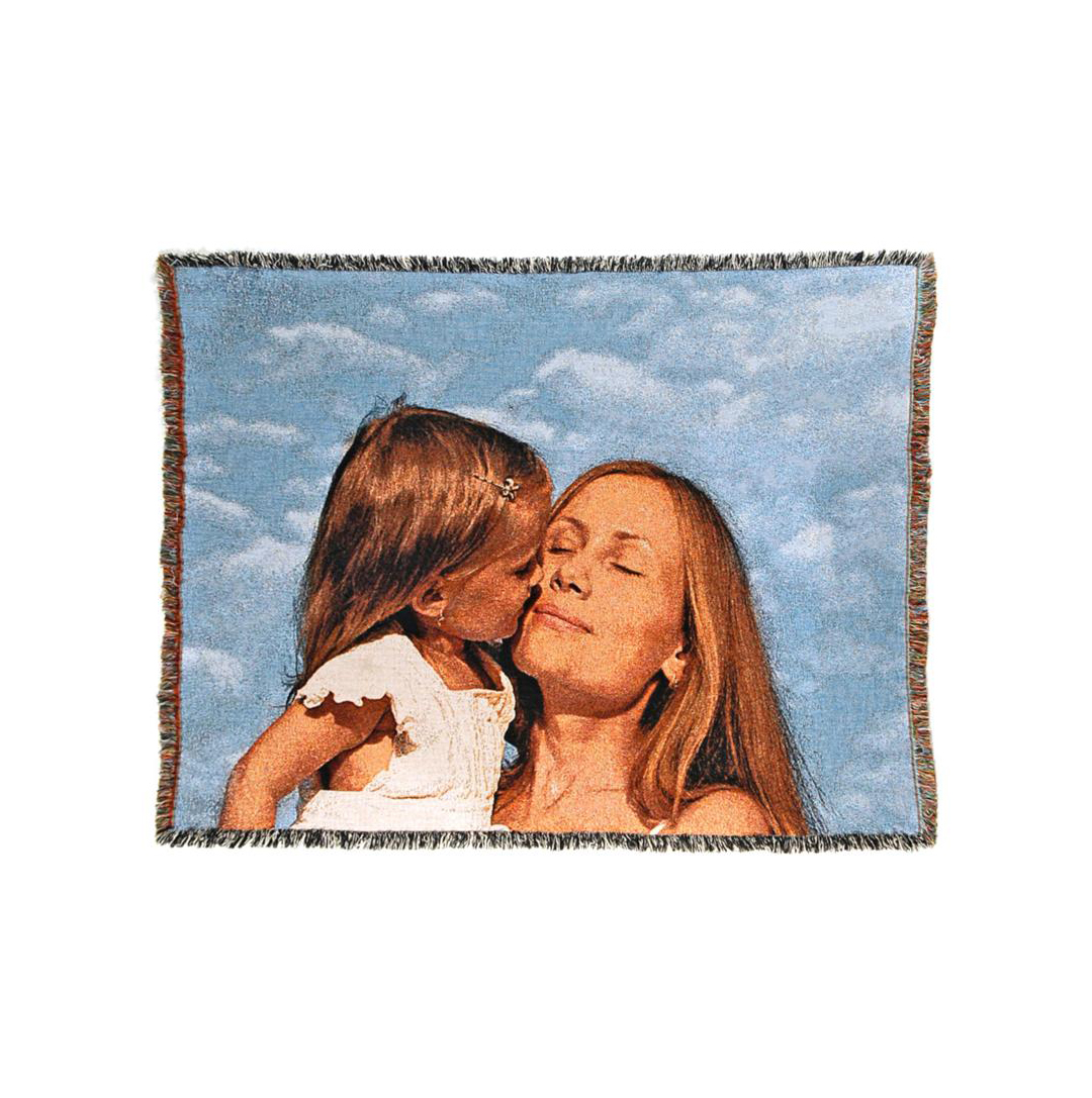 Personalized Woven Photo Blanket