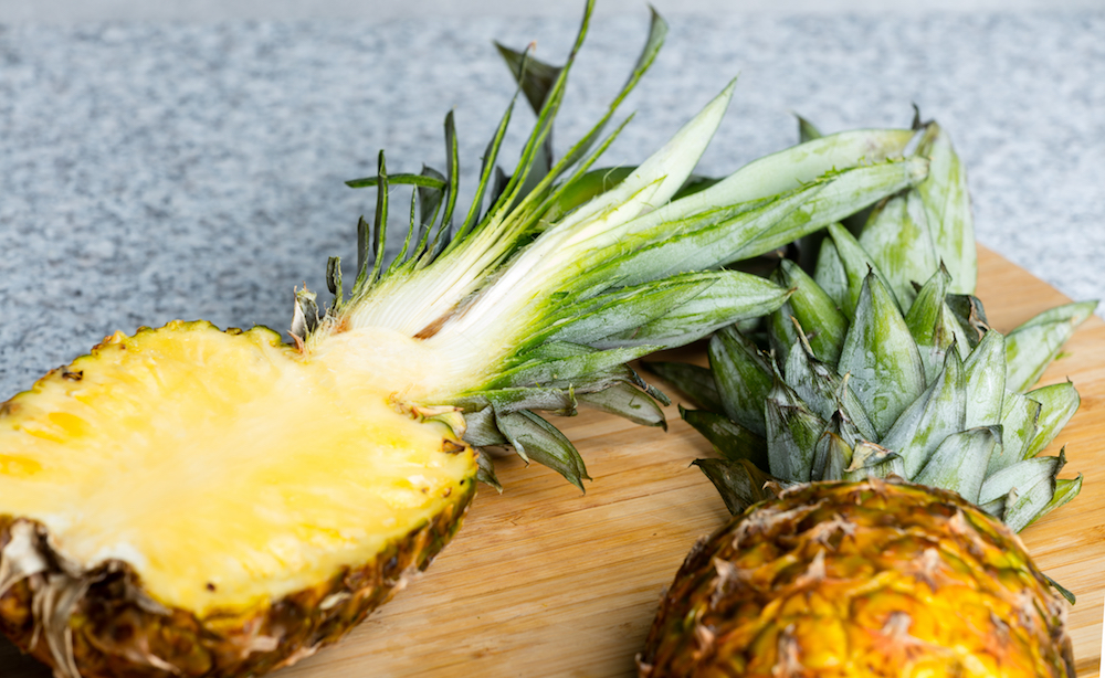 Surprising Foods You Can Eat: Pineapple Cores