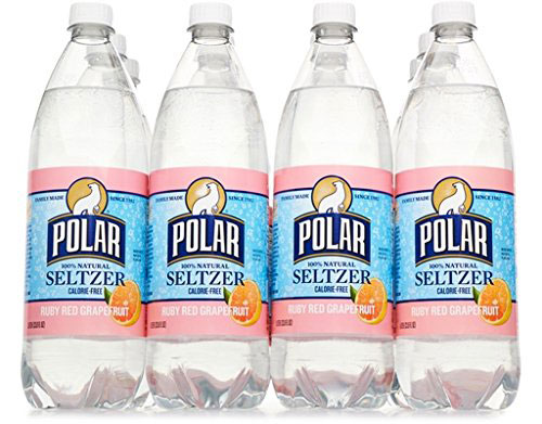 Polar Seltzer in Ruby Red Grapefruit