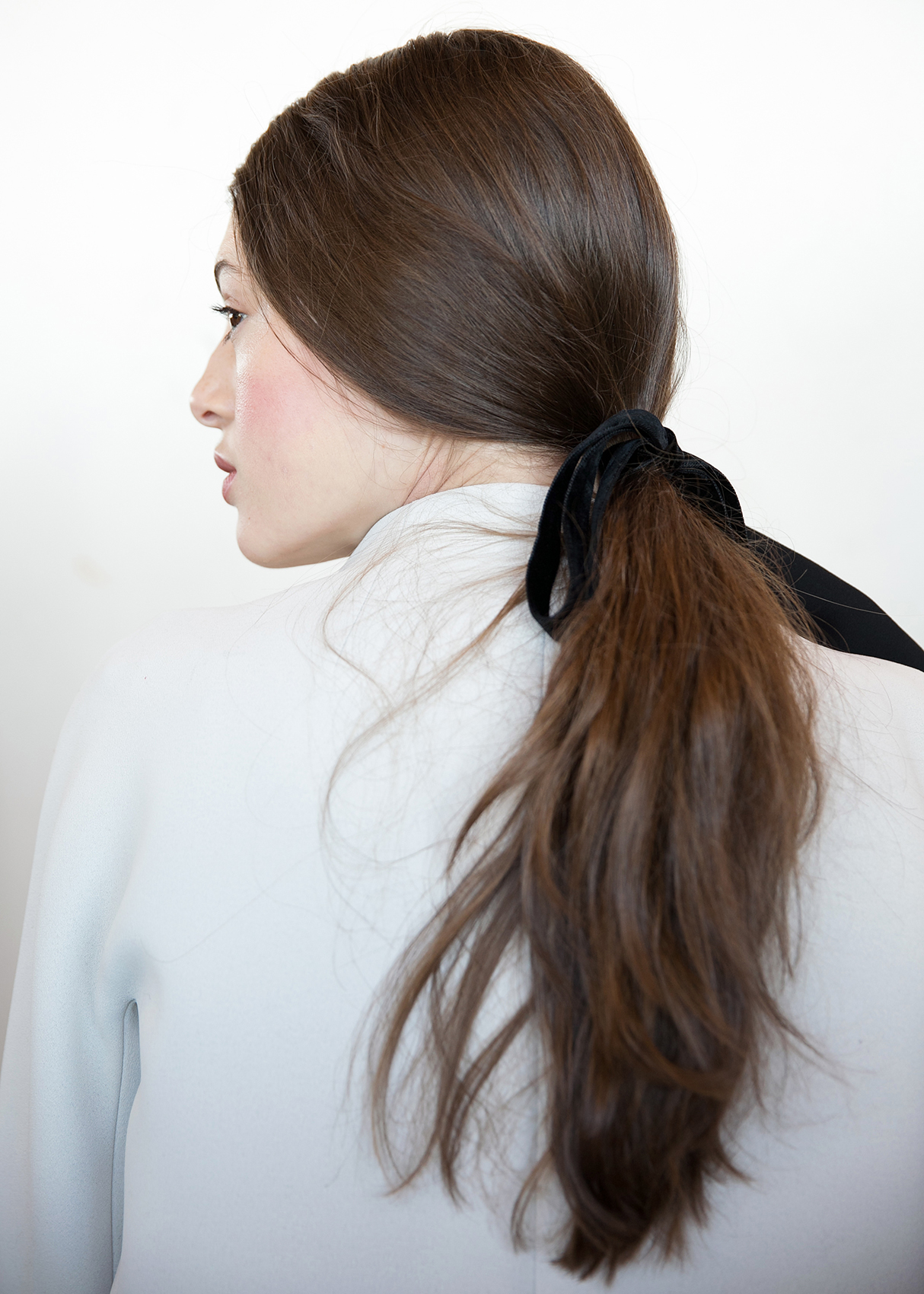 Ponytail from Kate Spade Fashion Week 2016