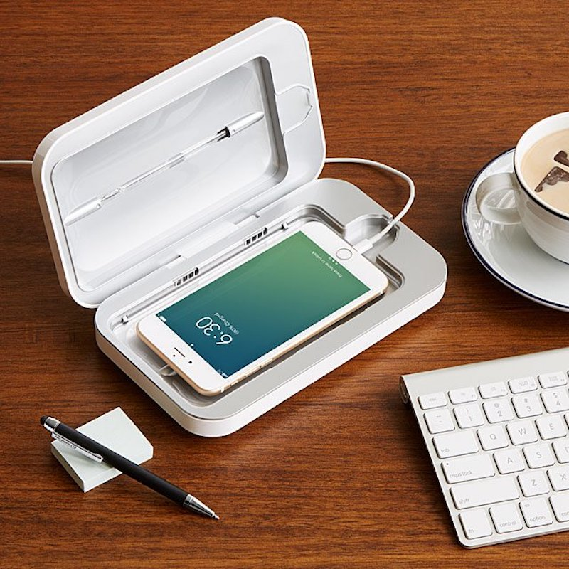 Phone Soap phone cleaning gadget