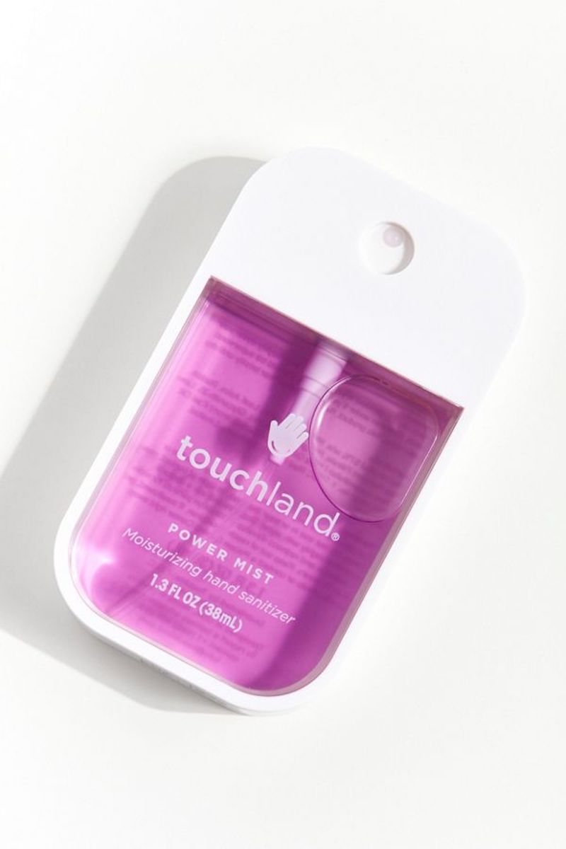 Hand Sanitizer in colorful bottle