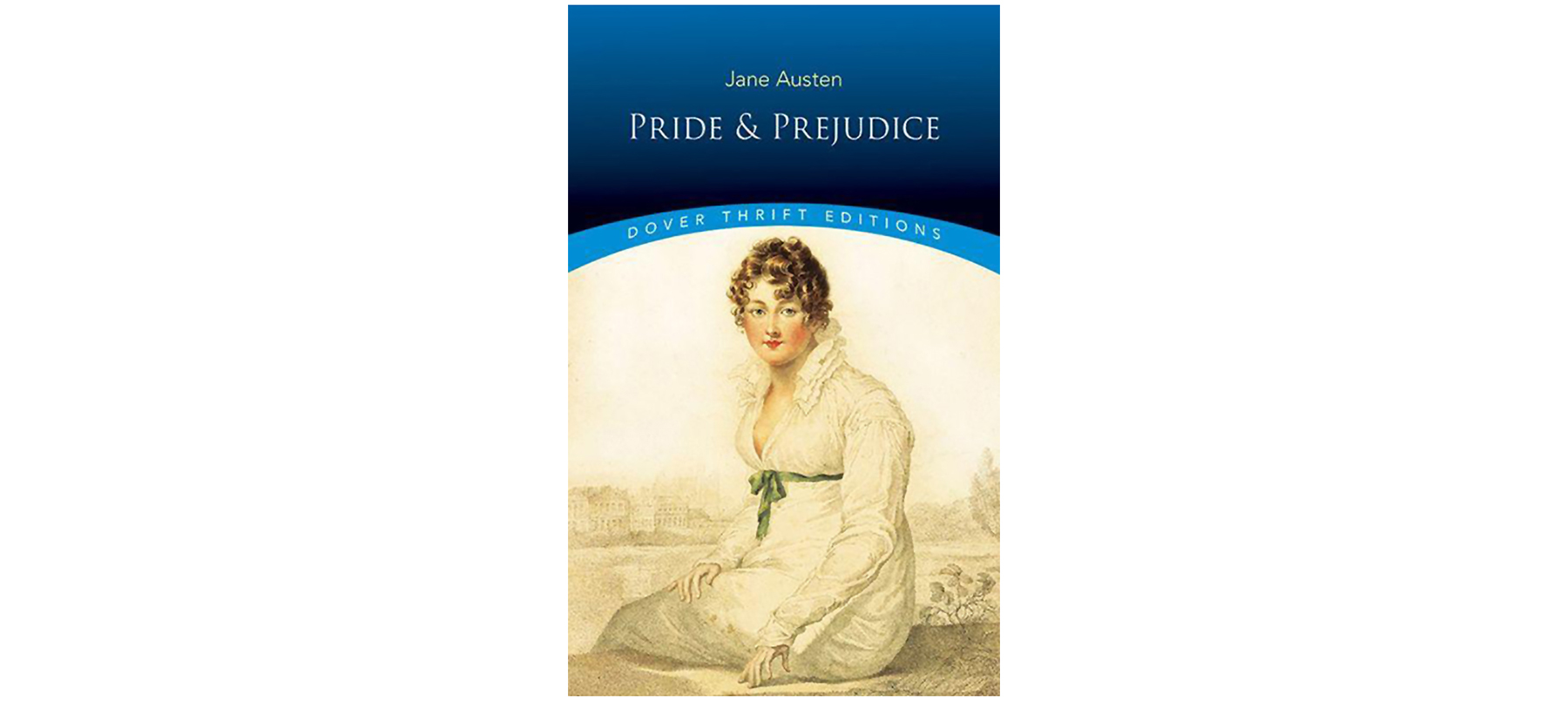 Cover of Pride and Prejudice, by Jane Austen