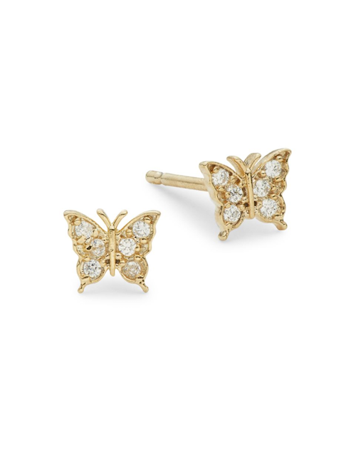 Princess Diana Butterfly Earrings Worn by Meghan Markle in Australia: How to Get the Look