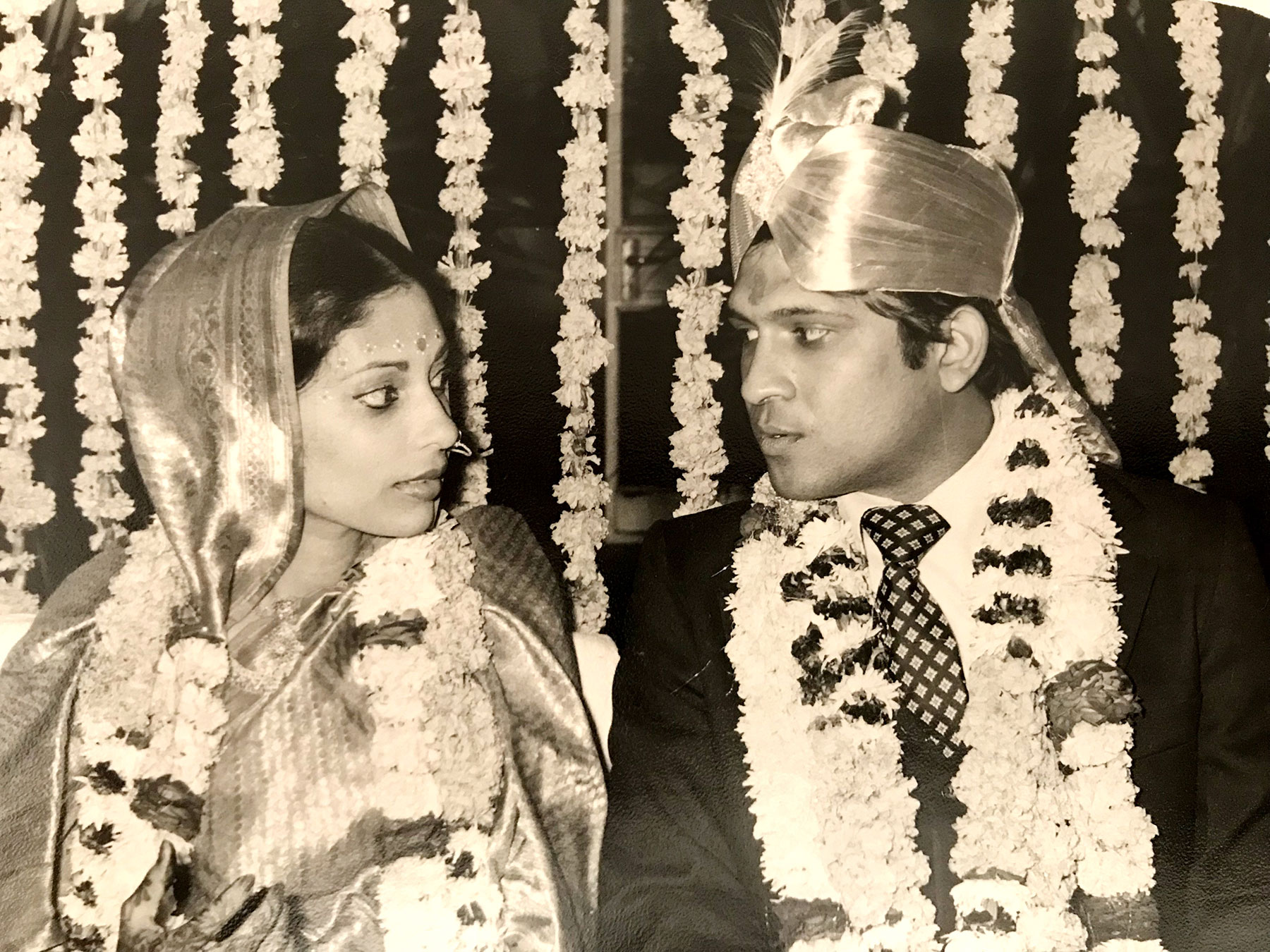 Priya Krishna's Parents