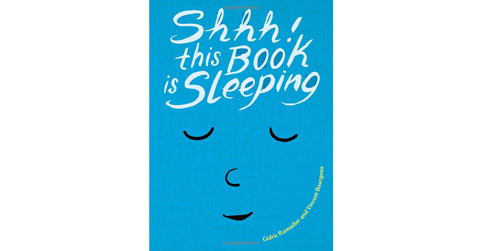 Shhh! This Book is Sleeping By Cedric Ramadier