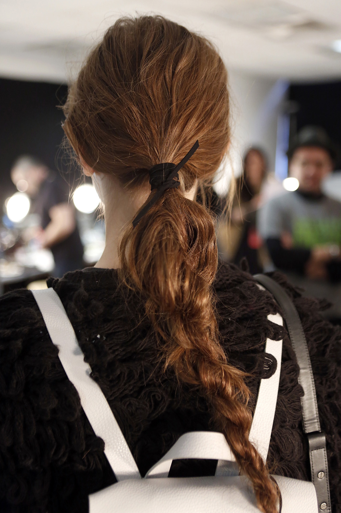 Braid from Rebecca Minkoff Fashion Week 2016
