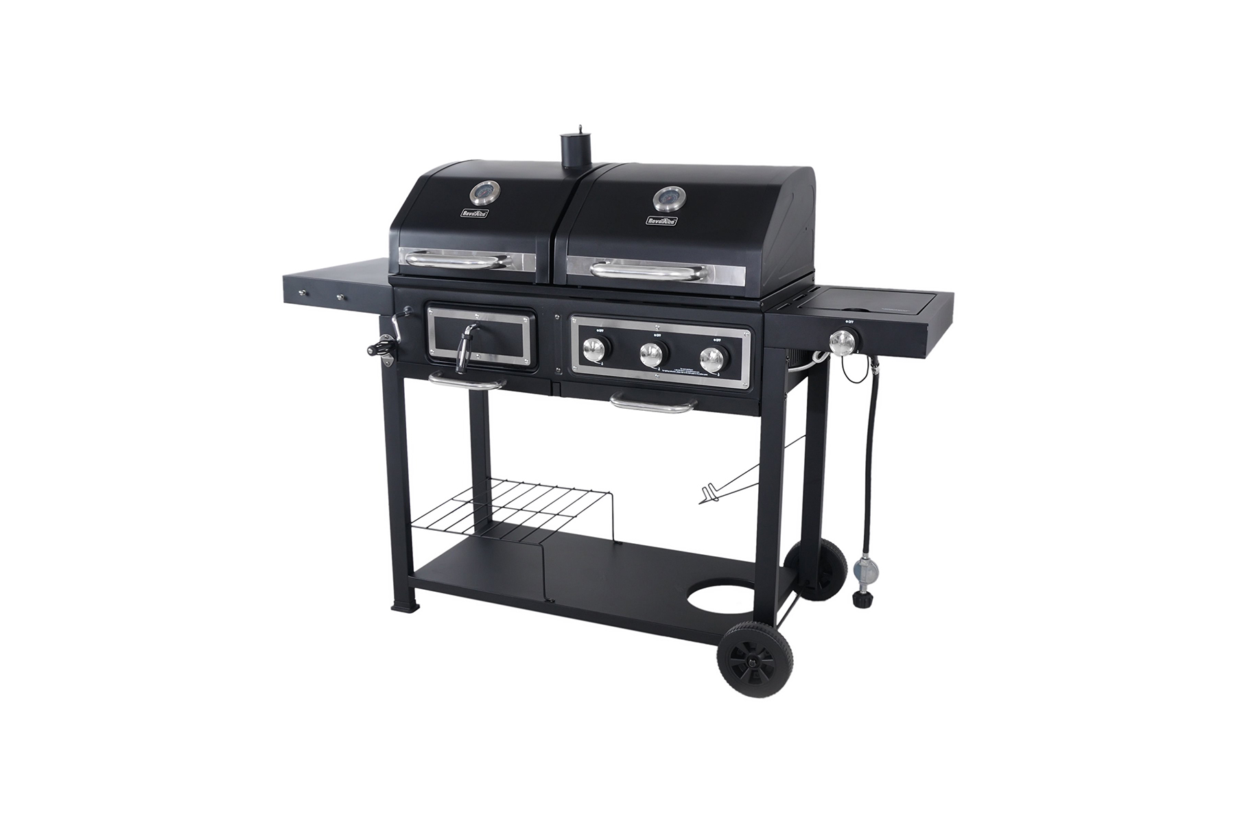 Revoace Dual Fuel Combination Charcoal Gas Grill