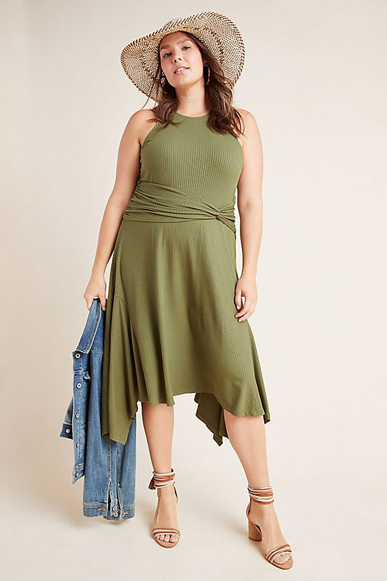 Ribbed Kingsolver Dress