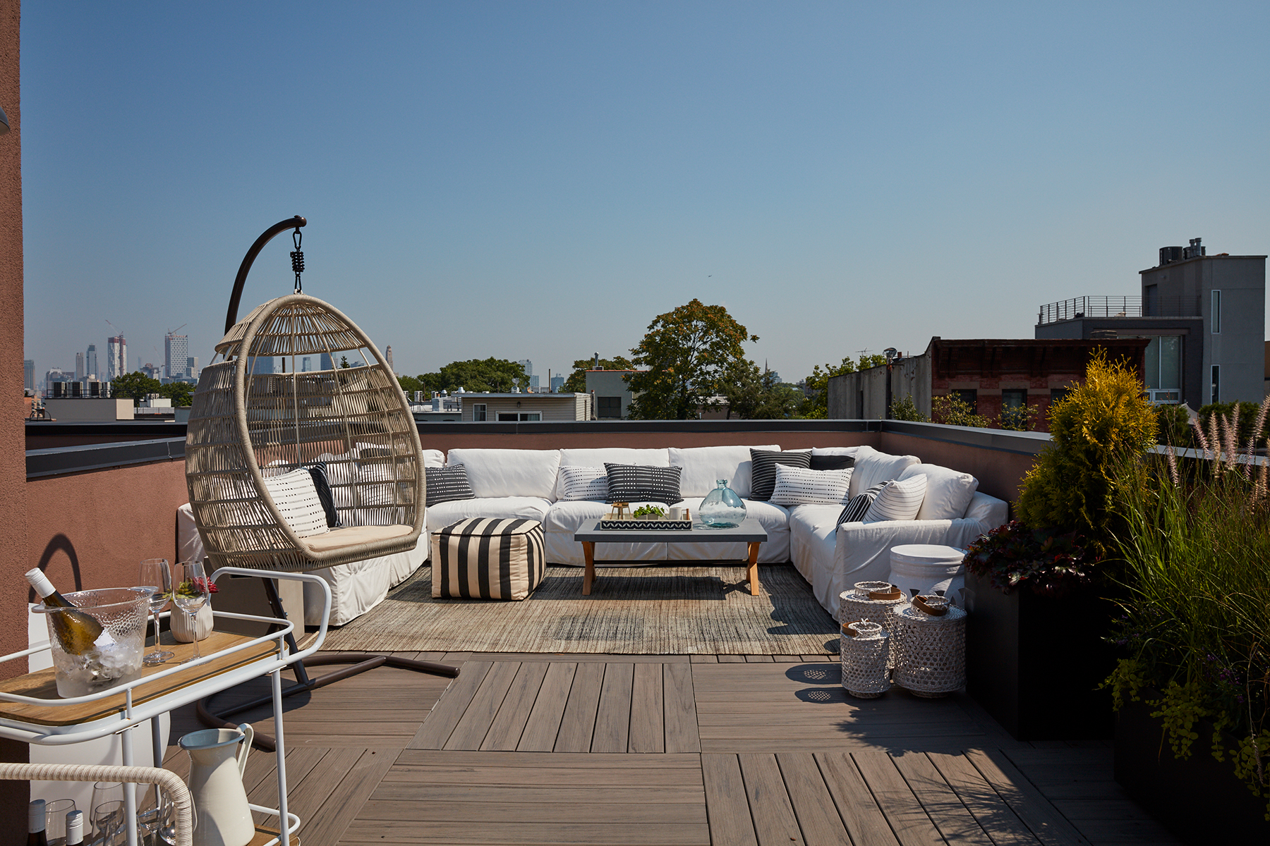 2019 Real Simple Home: Rooftop Terrace