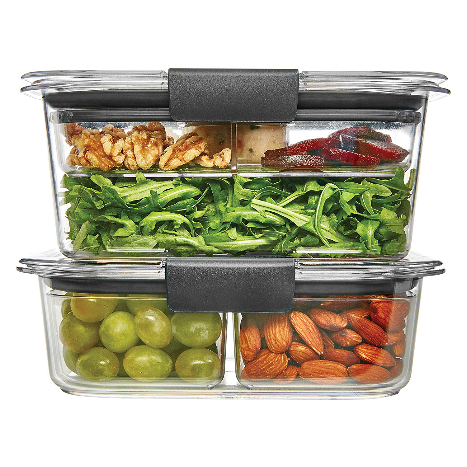 Rubbermaid Brilliance Food Storage Container Nine-Piece Combo Kit