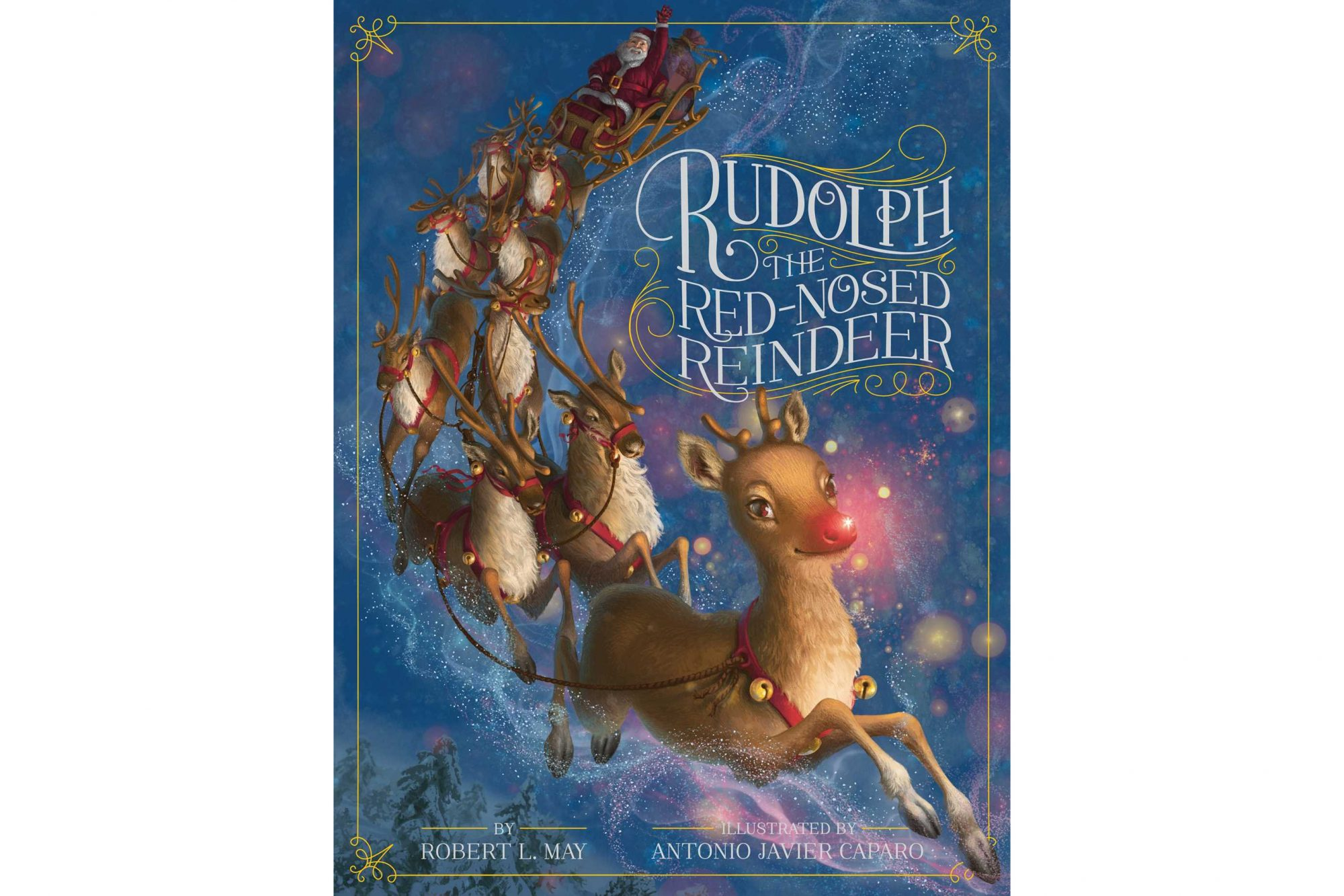 Christmas books for kids - Rudolph the Red-Nosed Reindeer, by Robert L. May