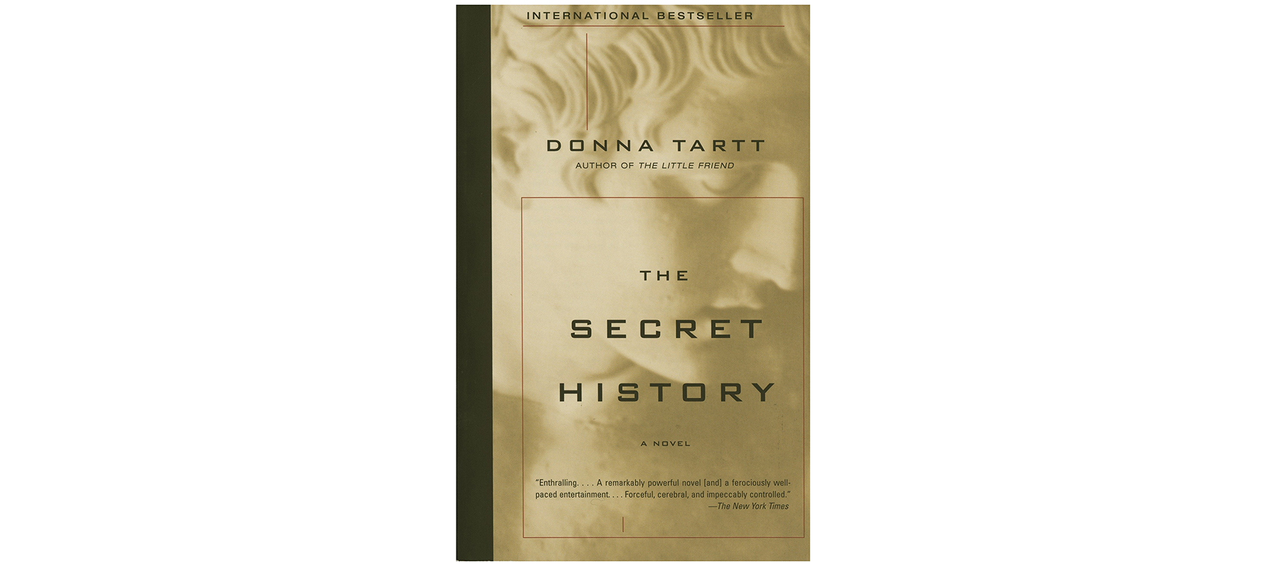 Cover of The Secret History, by Donna Tartt