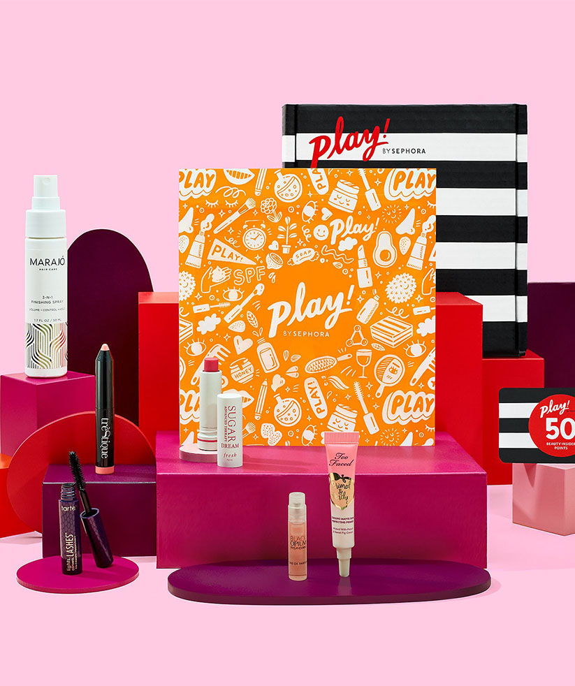 The Best Beauty Subscription Boxes: Play! by Sephora