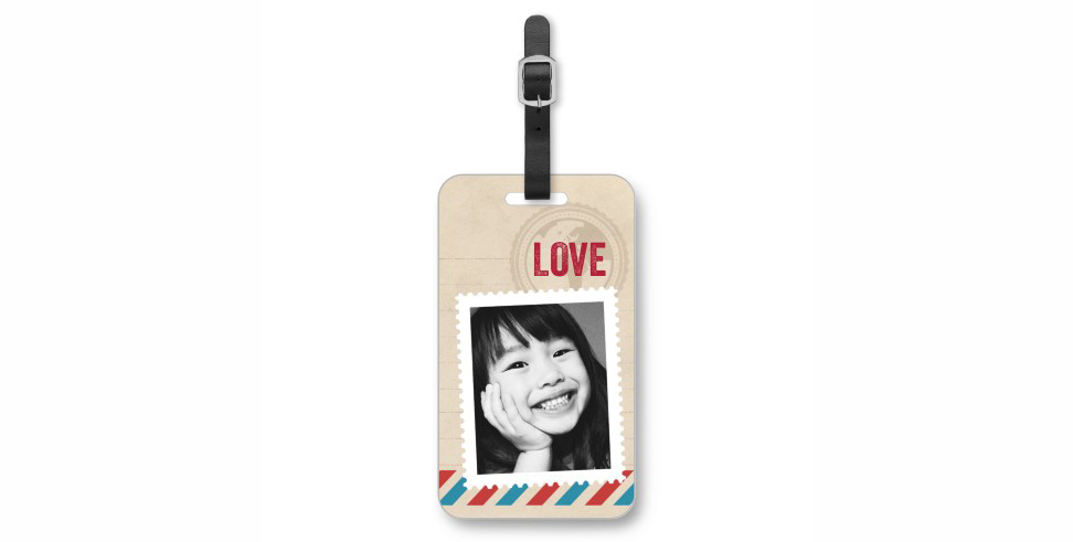 Shutterfly Stamped In Love Photo Tag