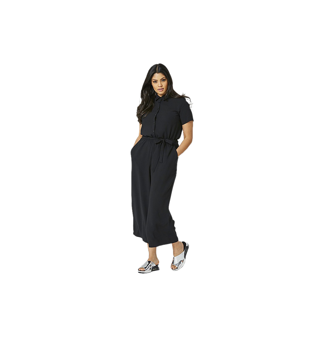 SimplyBe Shirt Culotte Jumpsuit