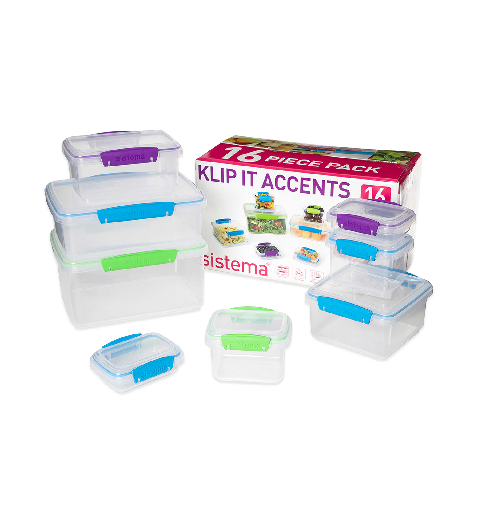 Sistema Klip It Containers