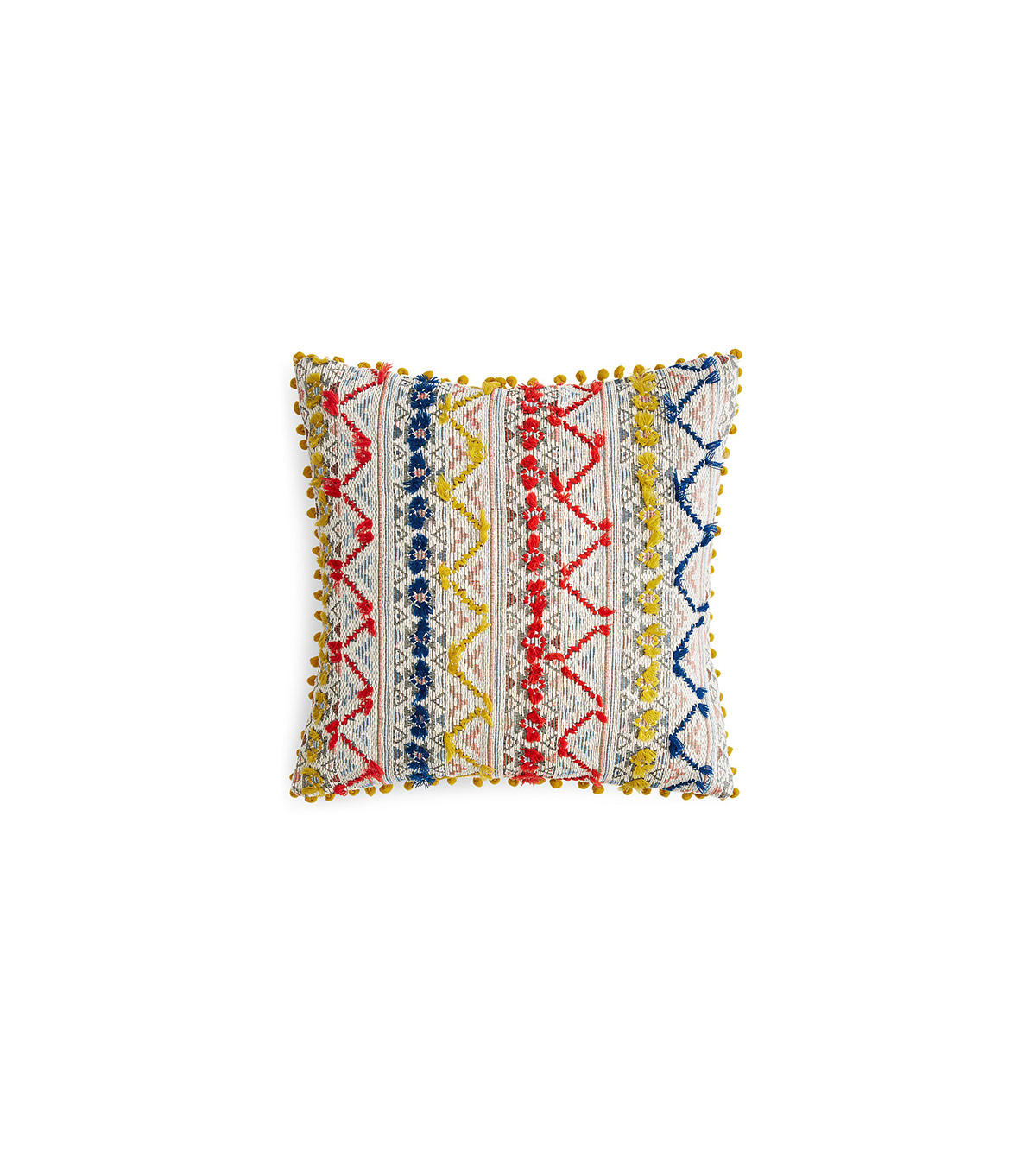 Sky Indra Tassel Woven Decorative Pillow