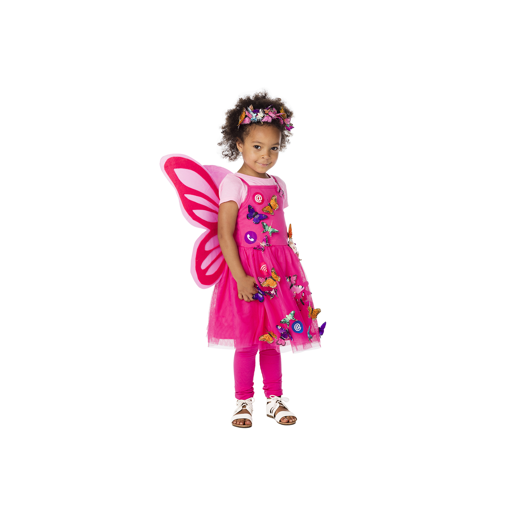 DIY Halloween costumes - Social (Media) Butterfly Costume
