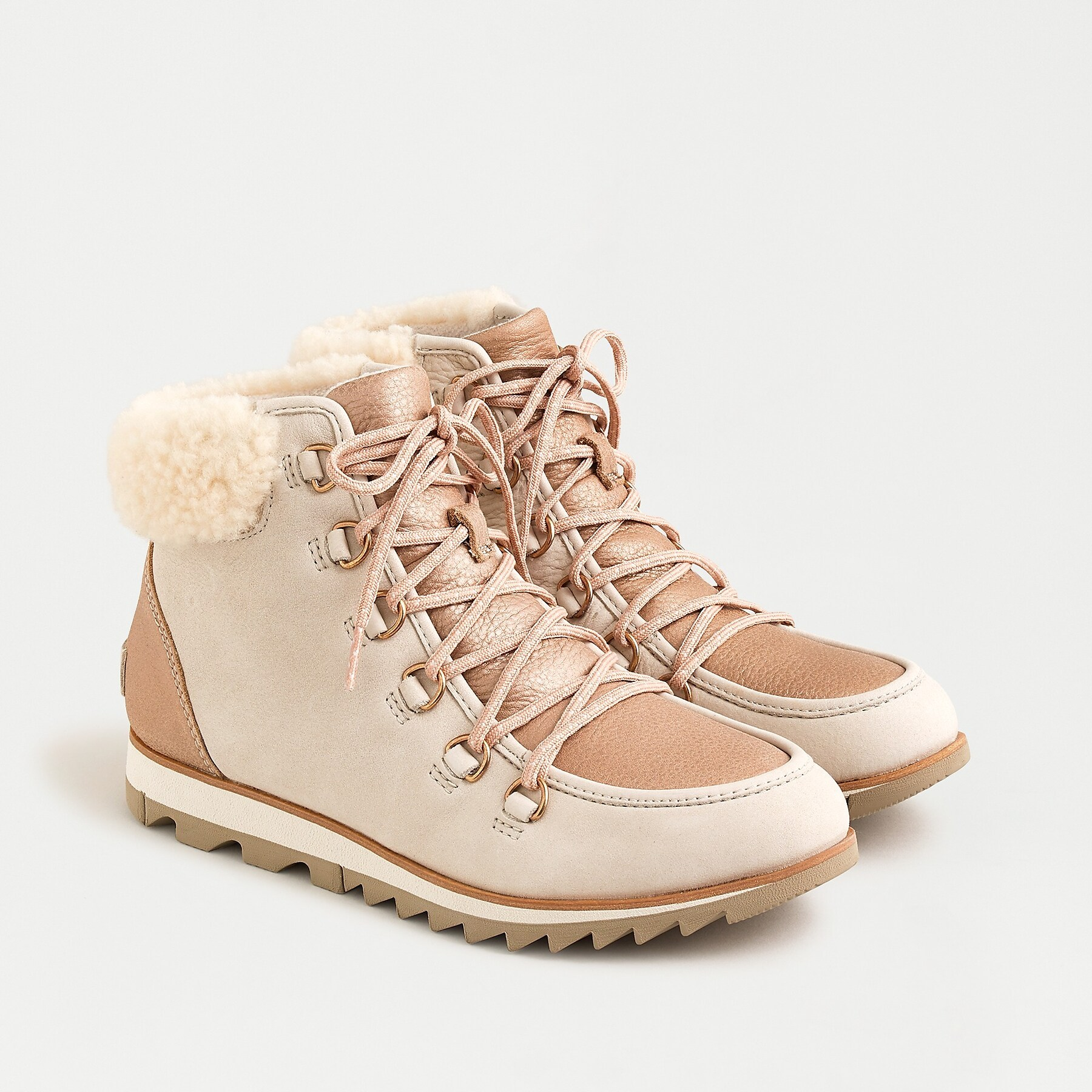 Sorel Harlow Short Lace Boots