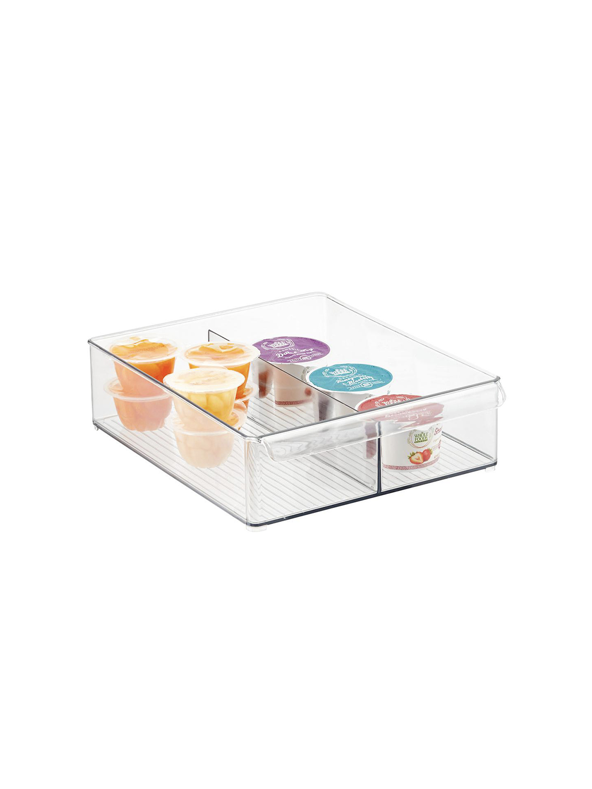 Clear Plastic Fridge Bins