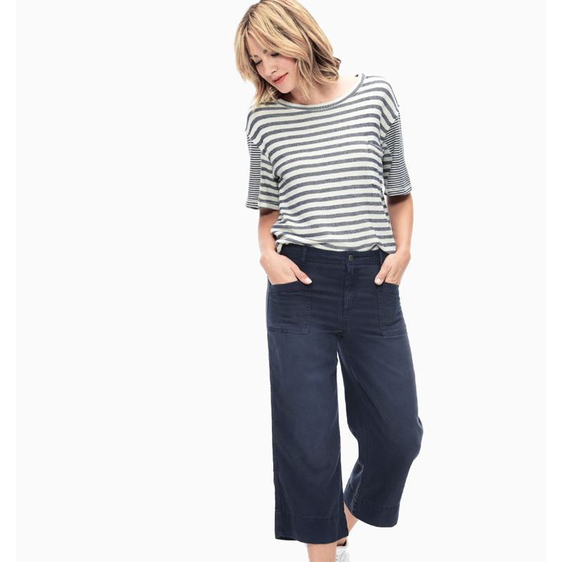 Splendid Peached Twill Cropped Pant