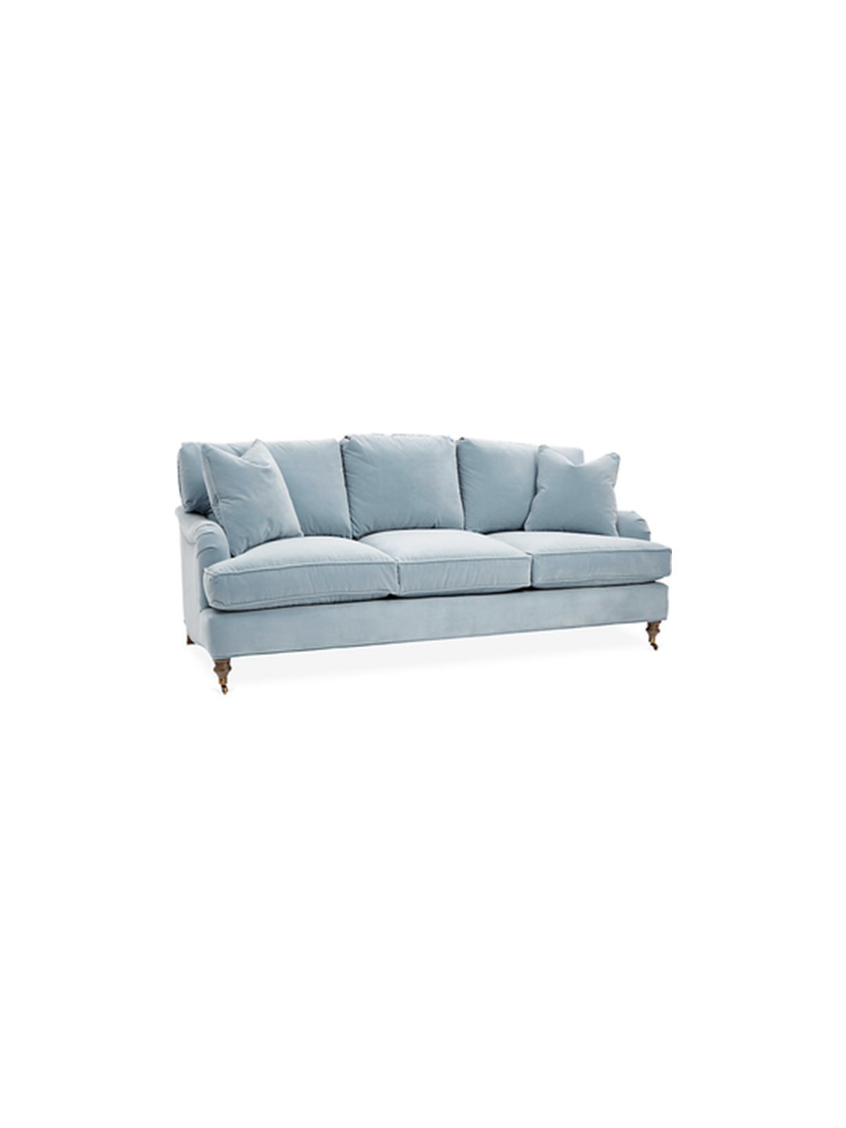 Stain Resistant Sofa in light blue