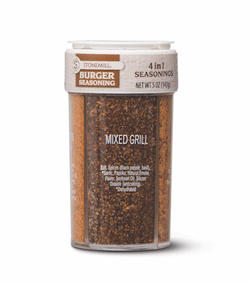 Stonemill 4-in-1 Grill Seasoning