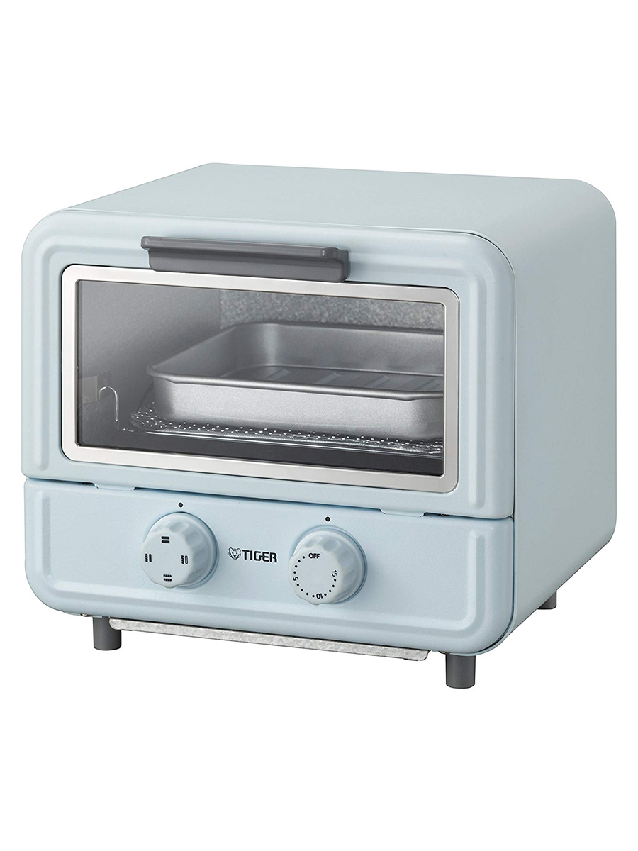Stylish Microwave and Toaster Ovens, Tiger light blue mini toaster oven