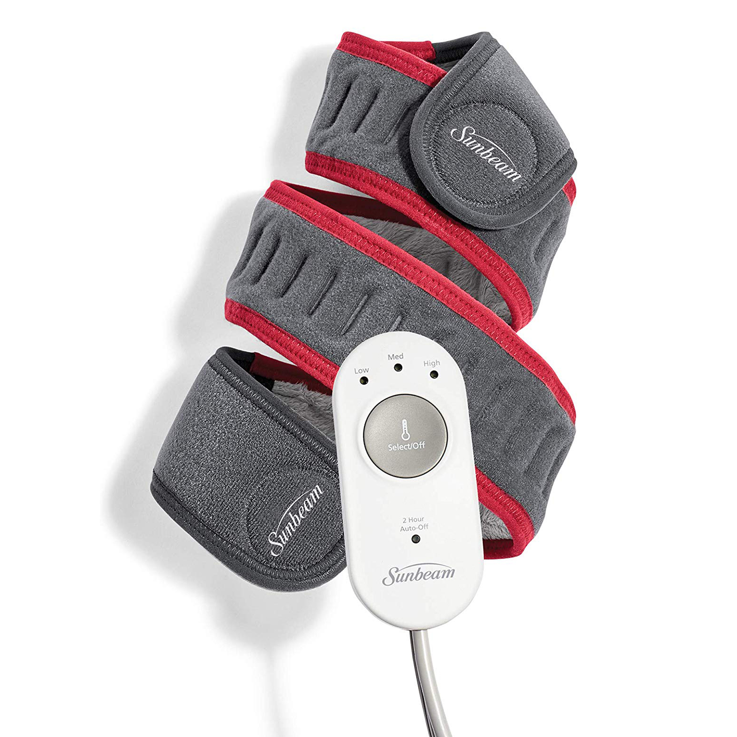 Sunbeam Flexfit Heating Pad Wrap for Pain Relief