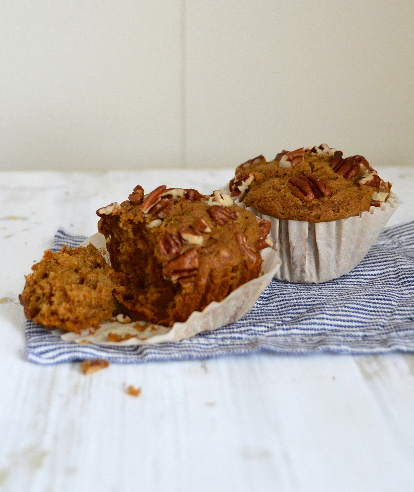 Brown Butter and Pecan Sweet Potato Muffins