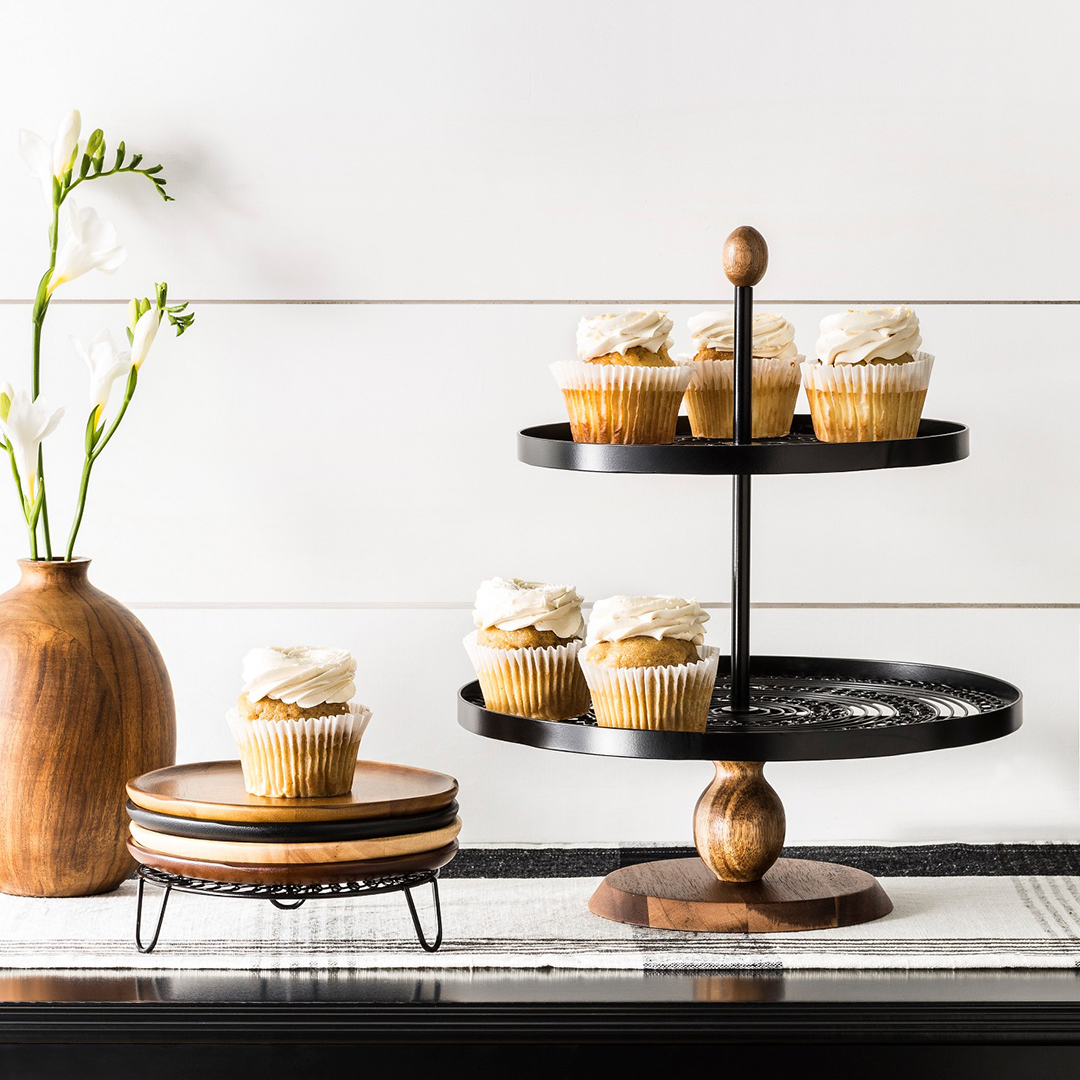 Hearth & Hand Tiered Serving Stand