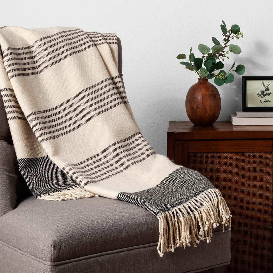 Hearth & Hand Stadium Throw Blanket