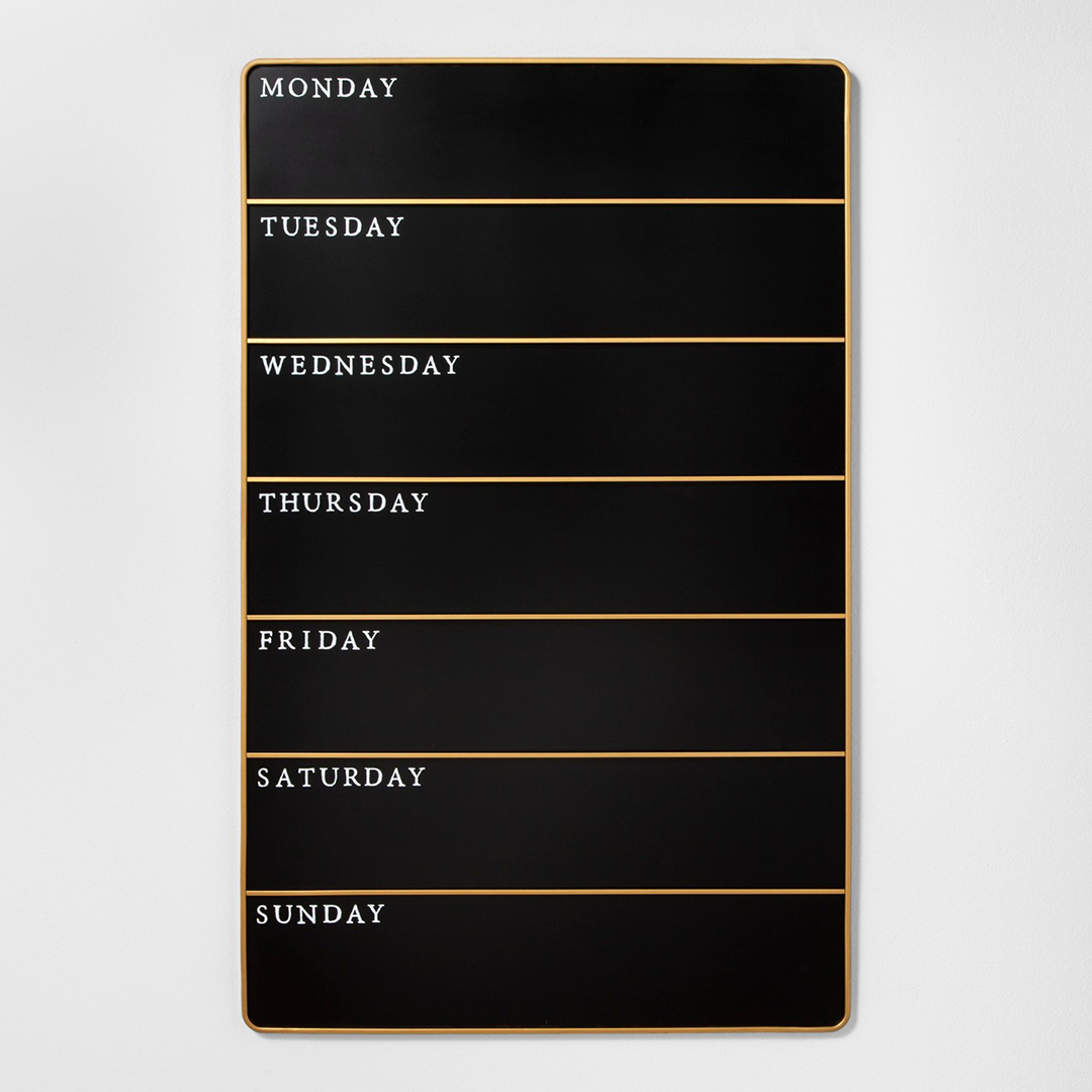 Hearth & Hand Days of the Week Chalkboard
