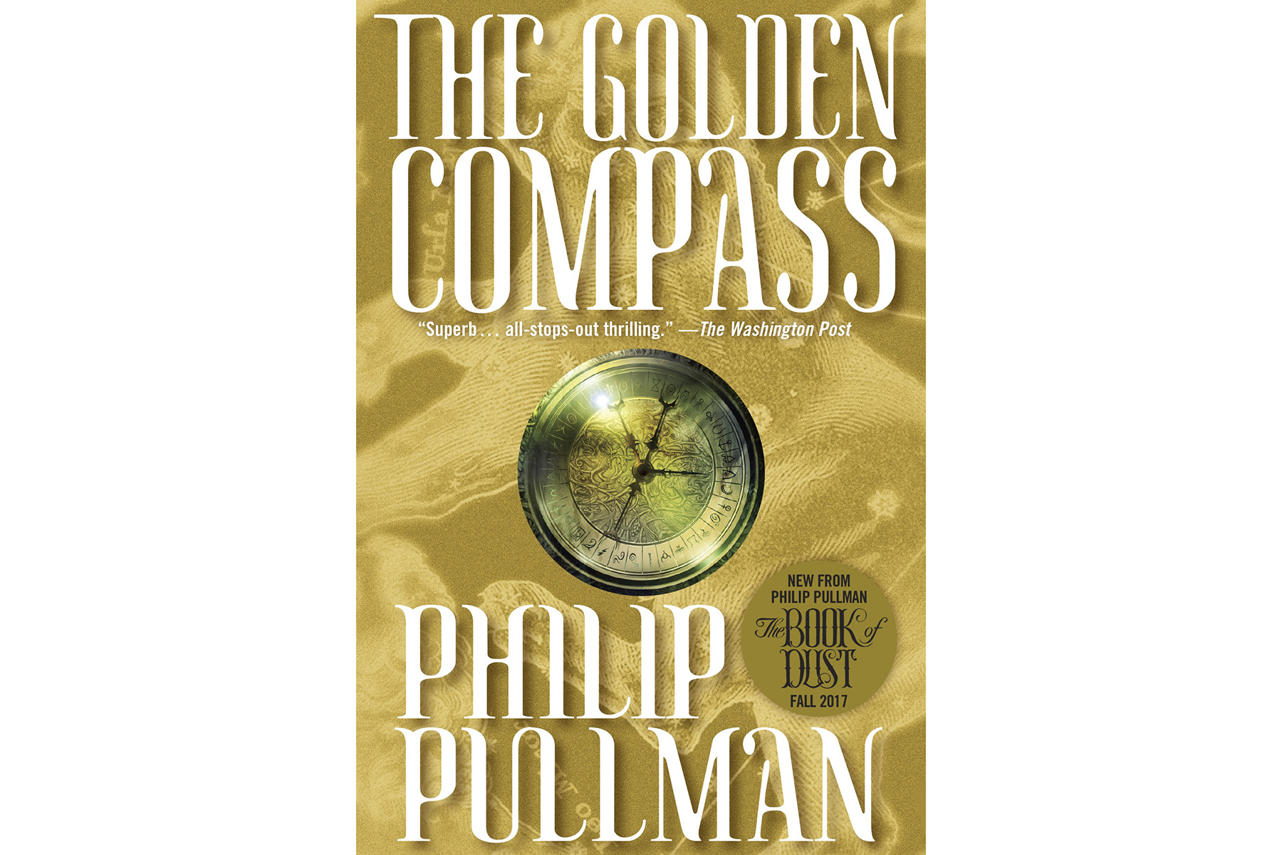 The Golden Compass, by Philip Pullman
