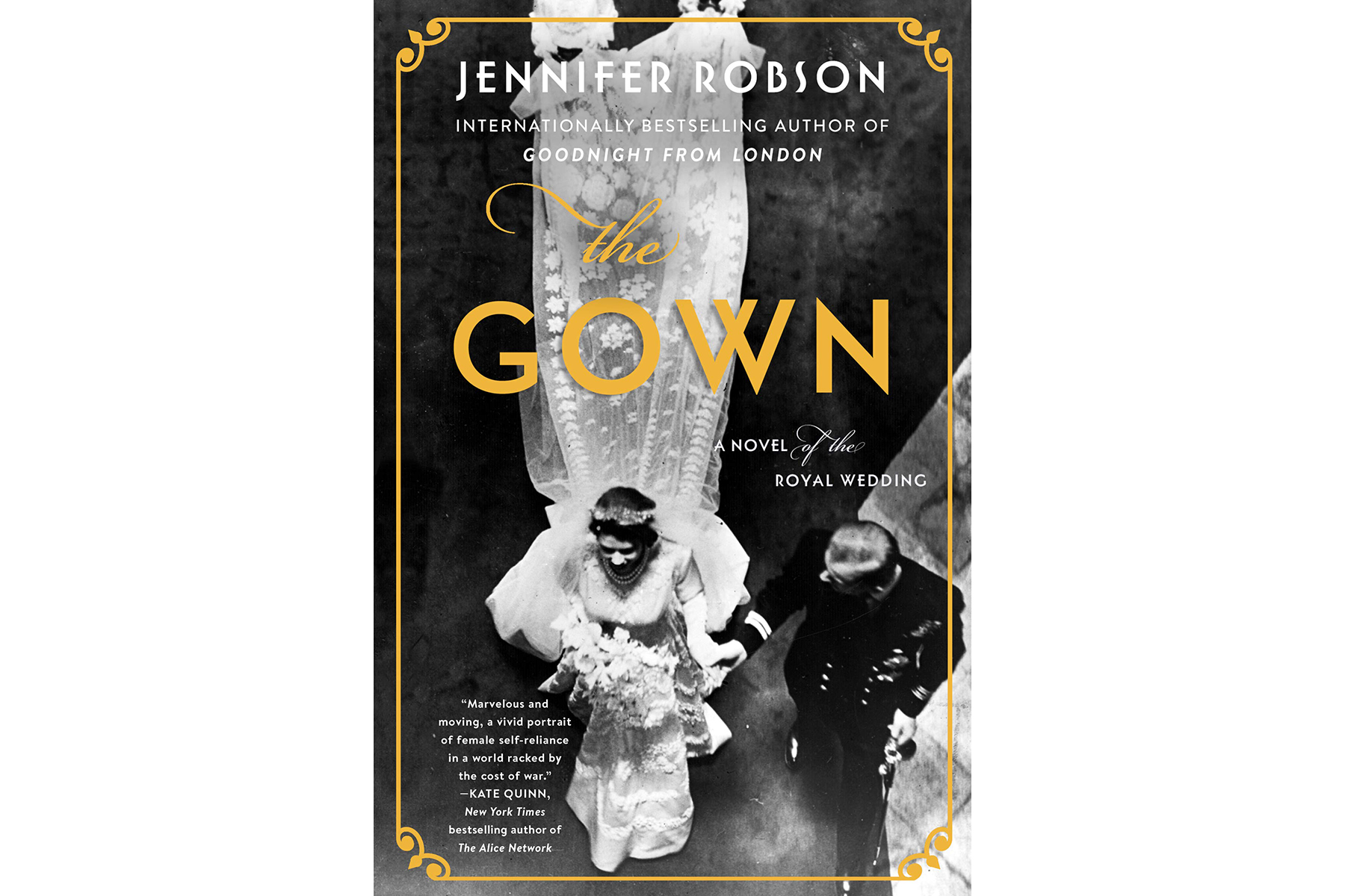 Cover of The Gown, by Jennifer Robson