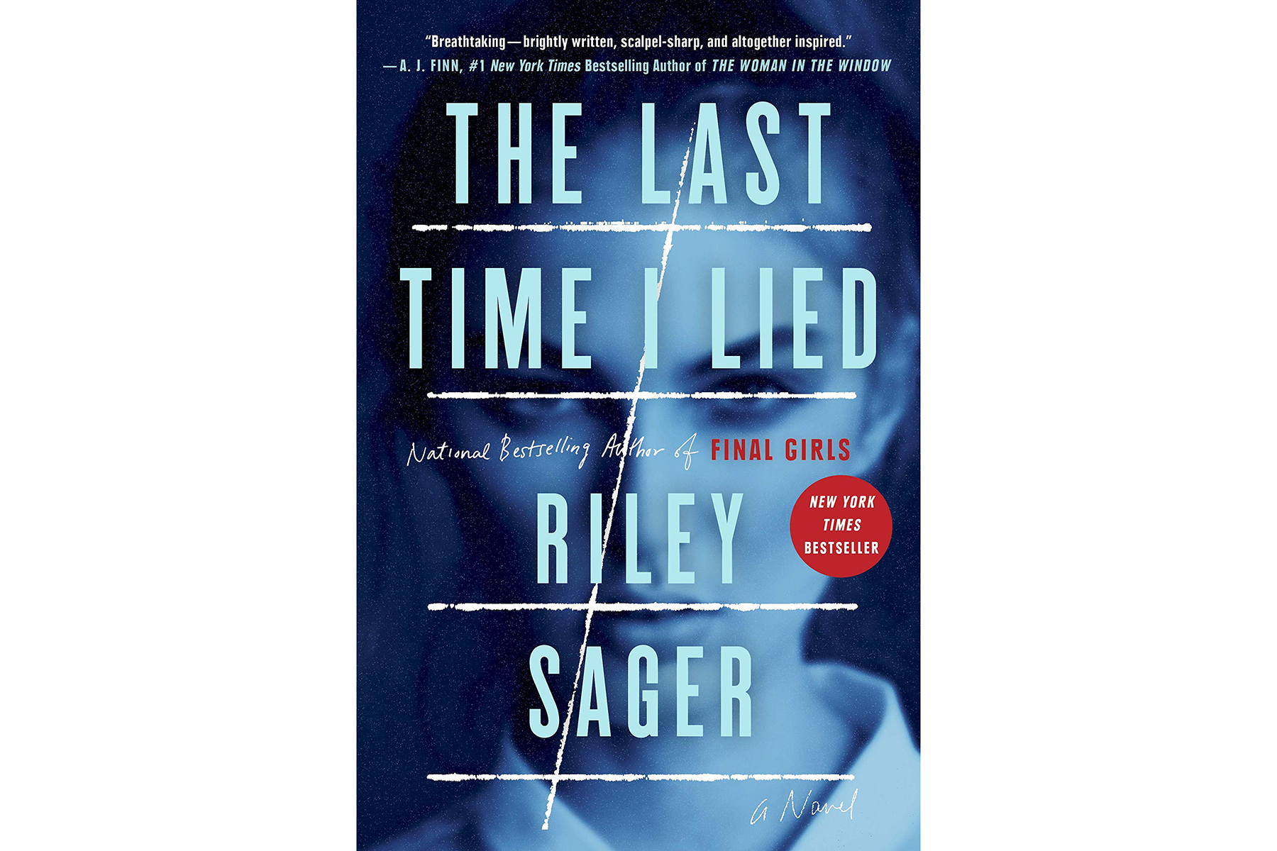 The Cover of The Last Time I Lied by Riley Sager