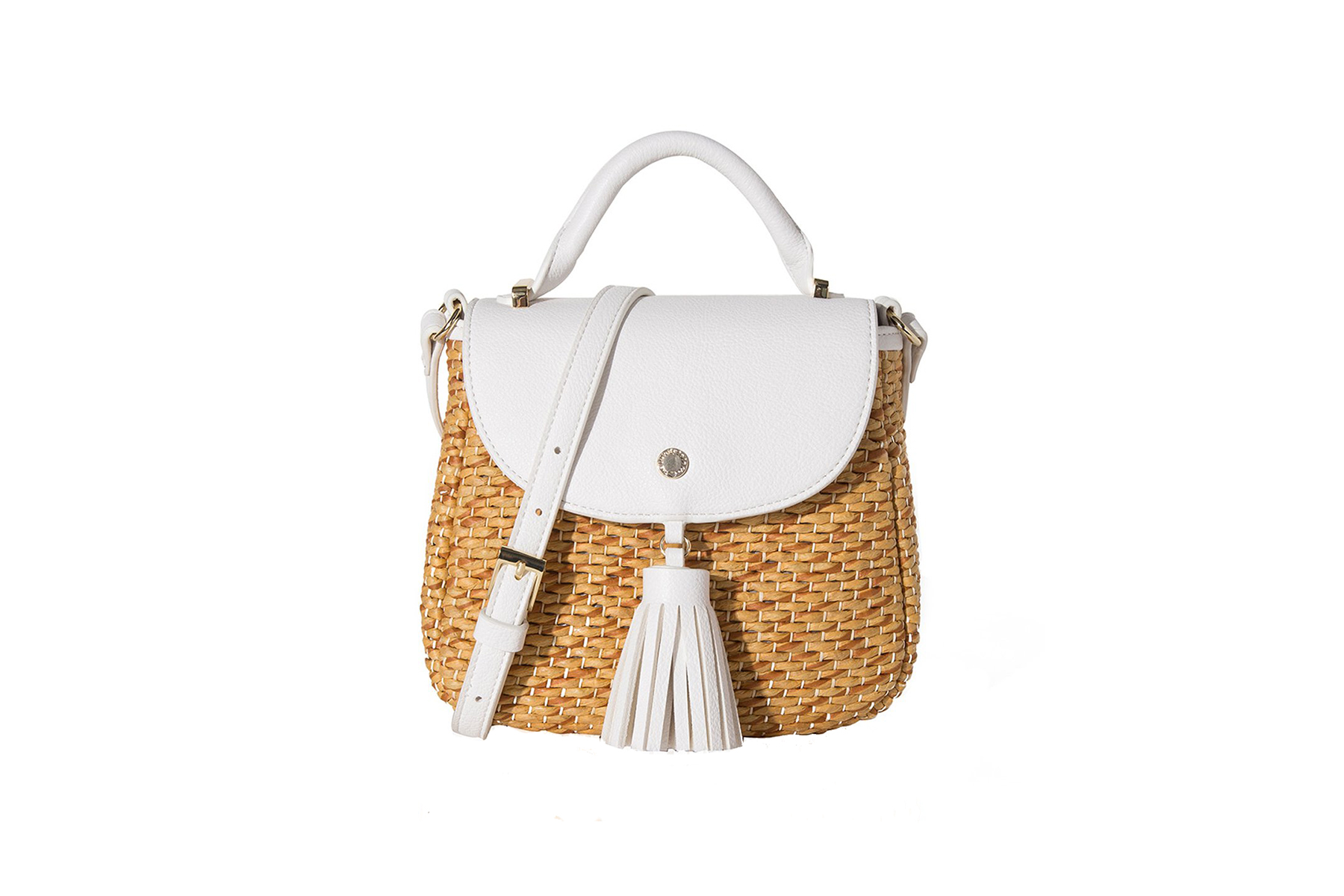The Lovely Tote Co. Straw Crossbody