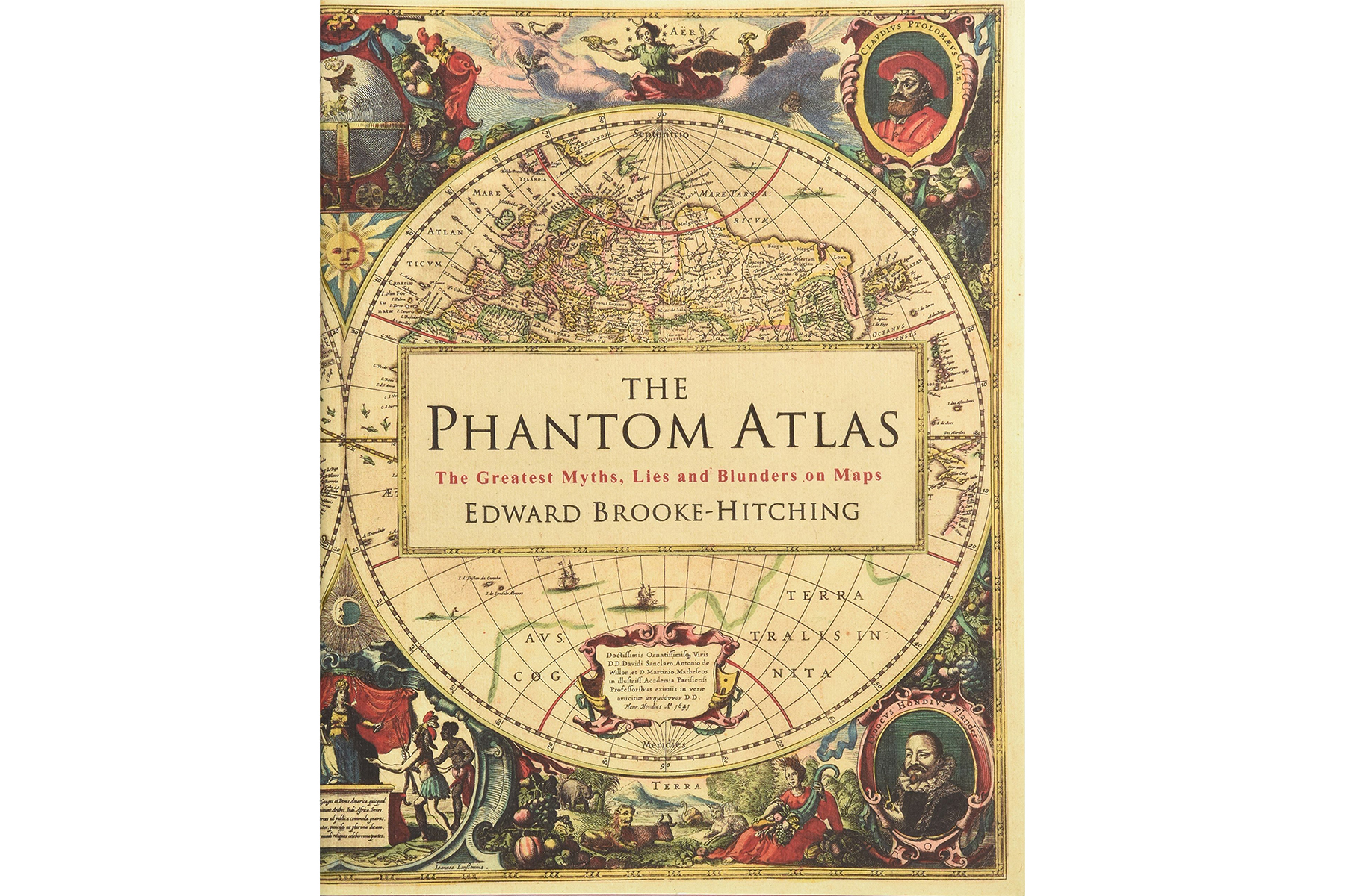 Cover of The Phantom Atlas, by Edward Brooke-Hitching