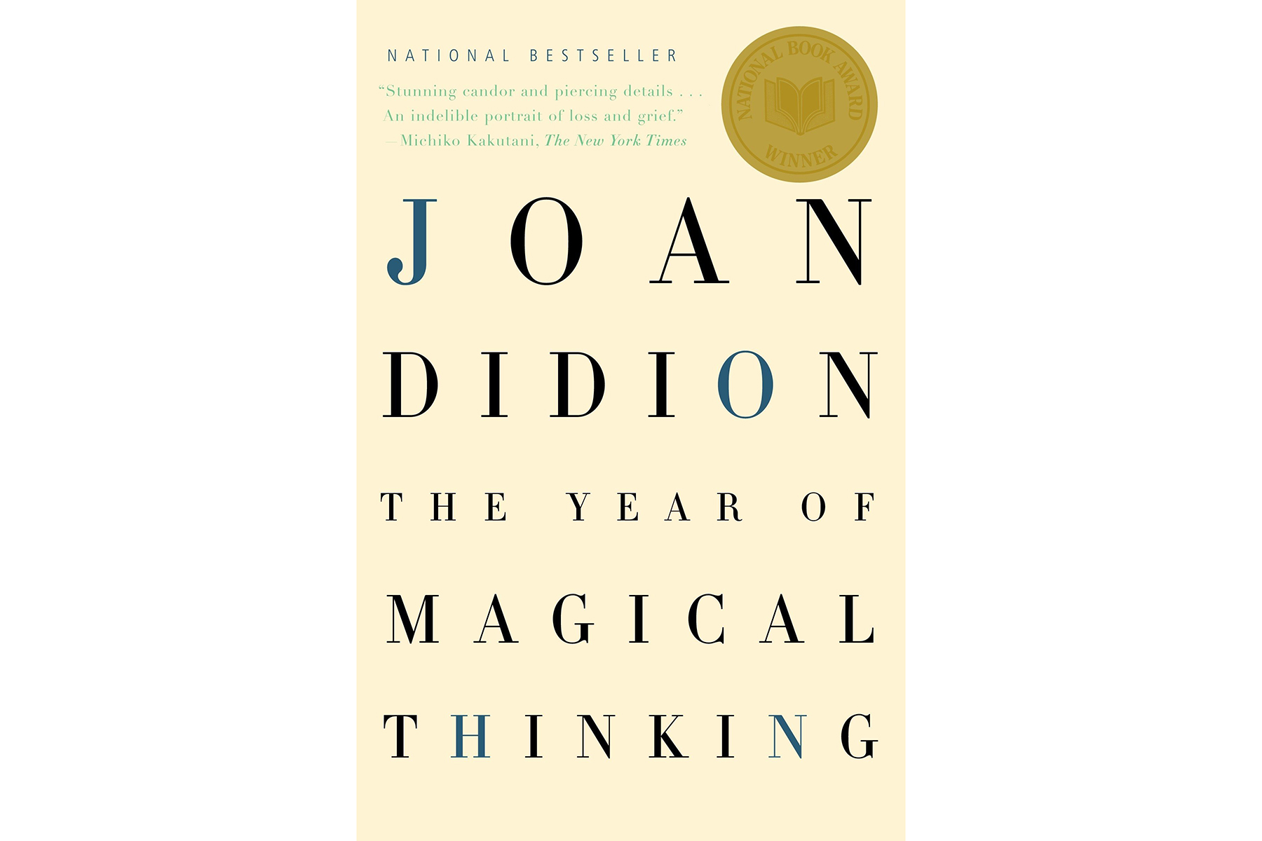 Cover of The Year of Magical Thinking, by Joan Didion