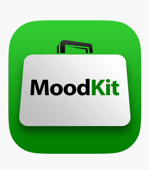 Therapy apps, apps for anxiety and depression - MoodKit