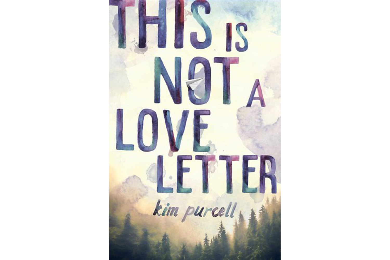 This is Not a Love Letter, by Kim Purcell book cover