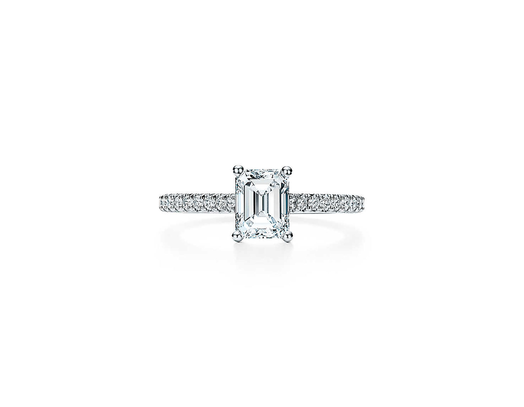 tiffany emeralnd cut engagement ring