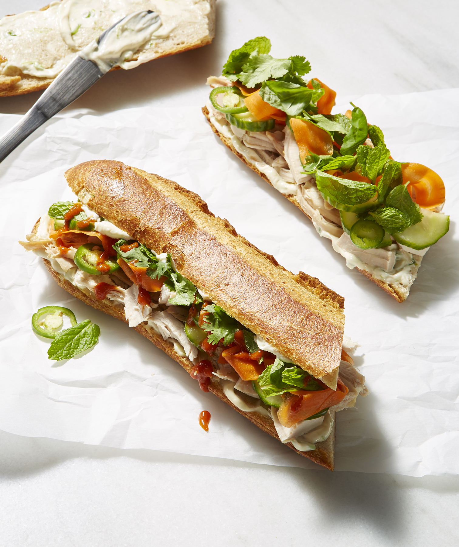 Turkey Banh Mi
