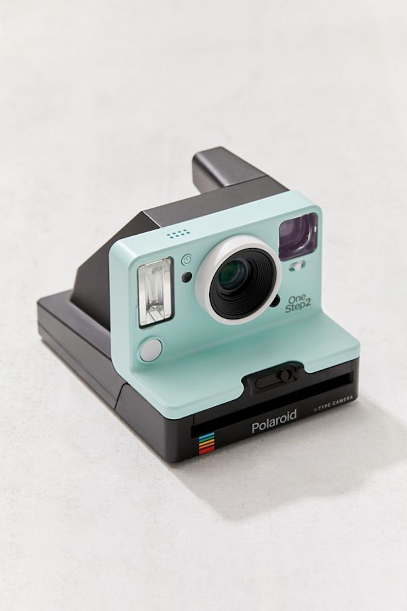 Valentine's Day Gift Ideas to Treat Yourself, Polaroid mint green camera