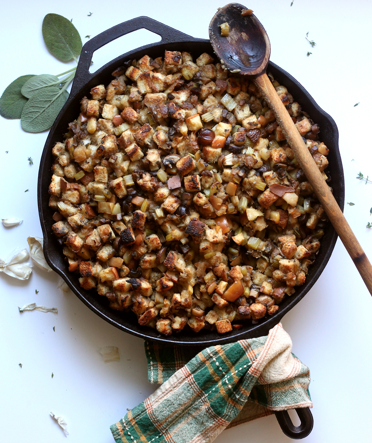 The Best Vegetarian Stuffing Recipe: Recipe for meat-free vegetarian stuffing