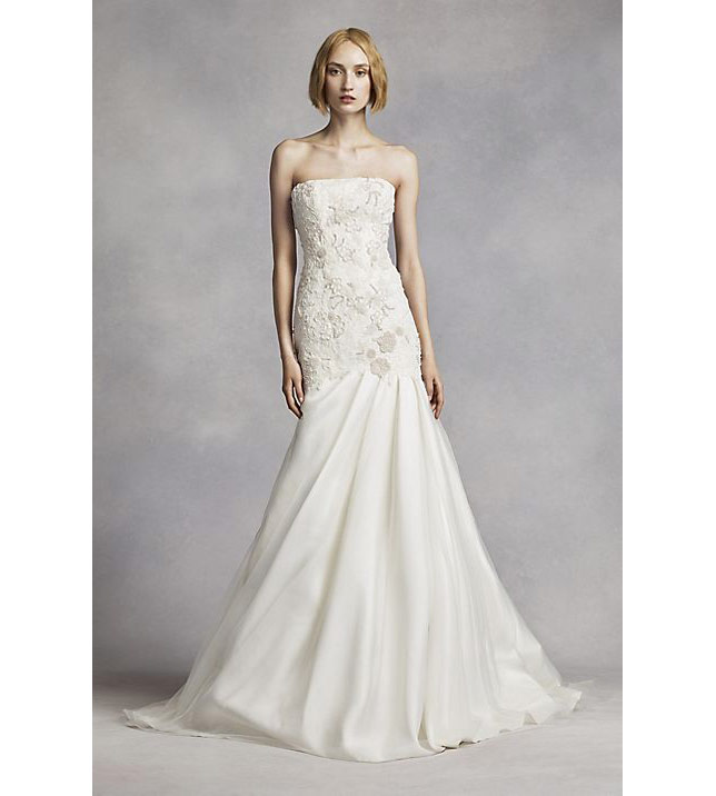 White by Vera Wang Lace Mermaid Wedding Dress