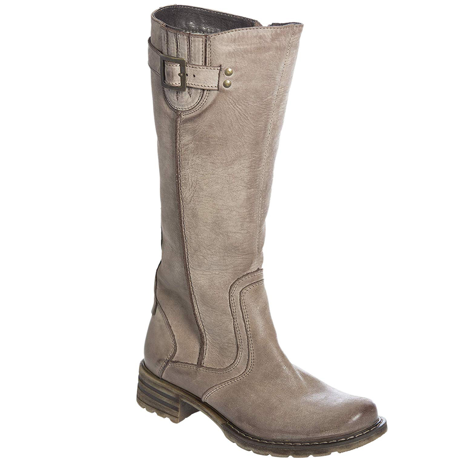 Warm Clothes for Women: Overland Sheepskin Co-Fleece Lined Leather Boots